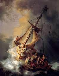 Jesús calma la tormenta 2