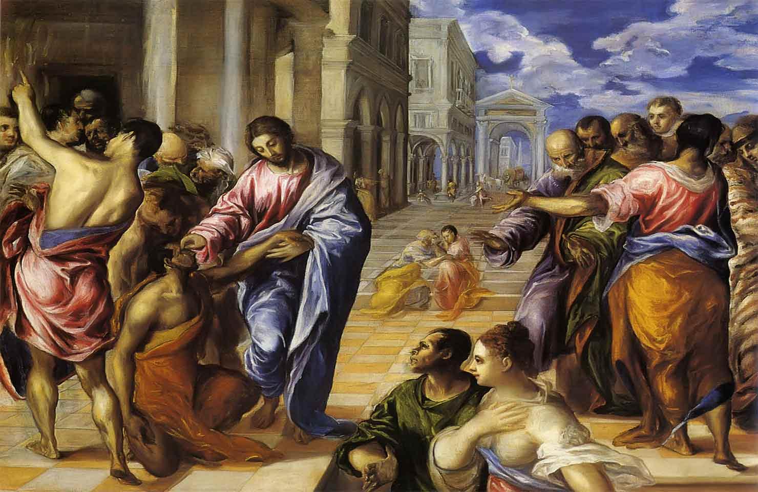 """Oración del miércoles: """"El ciego quedó curado y veía con toda claridad"""""""