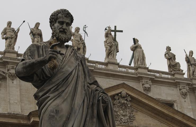 """Oración del jueves: """"Tú eres Pedro, y sobre esta piedra edificaré mi Iglesia"""""""