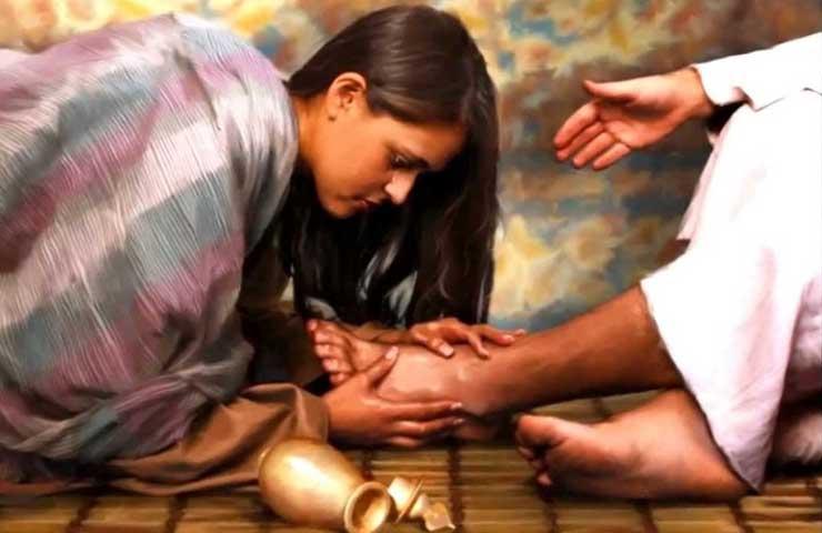 """Oración del jueves: """"Sus numerosos pecados, le han sido perdonados porque ha demostrado mucho amor"""""""