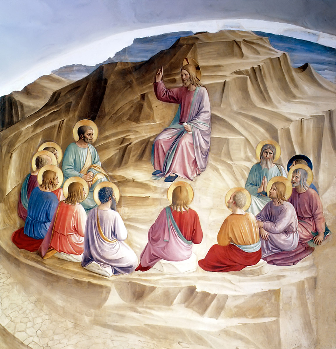 The Sermon on the Mount Fra Angelico, c. 1440