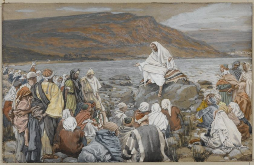 Jesus hablando