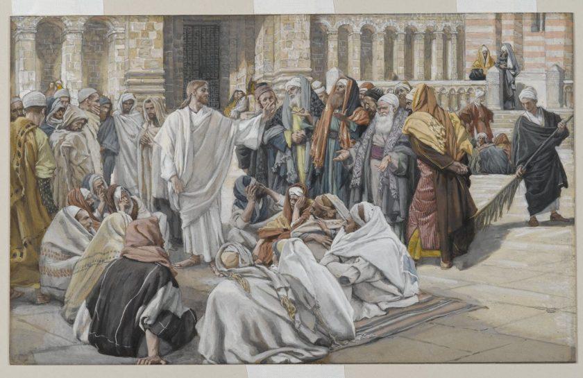 Jesus fariseos hablando