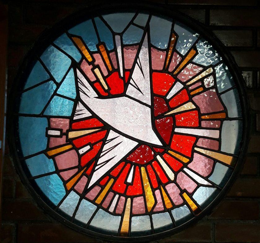 Espiritu Santo Vitral