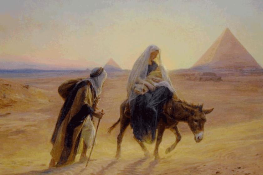 La-huida-a-Egipto