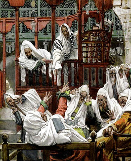 setiembre 3, el endemoniado de la sinagoga