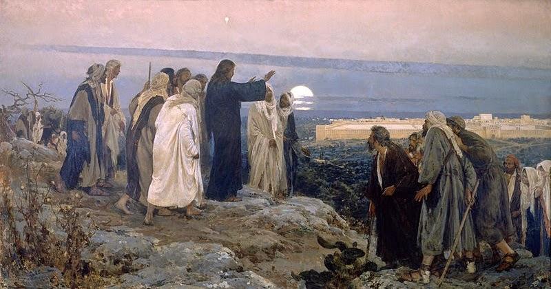 mount-of-olives Jesus Tissot