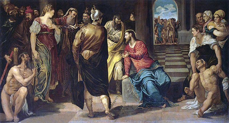 4_Cristo_y_la_mujer_adúltera_(Gemäldegalerie_de_Dresde,_c._1547),_189_x_355_cm