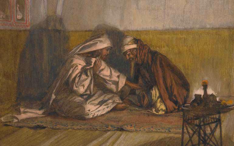 Jesus y Nicodemo