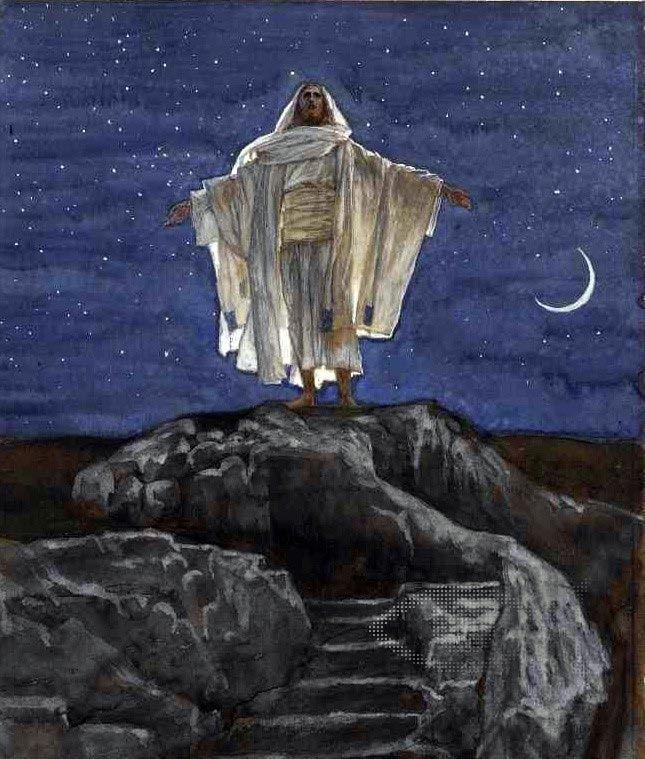La transfiguración  de James Tissot