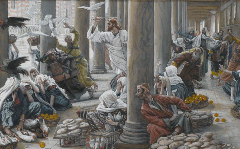 Jesucristo en el Templo James Tissot