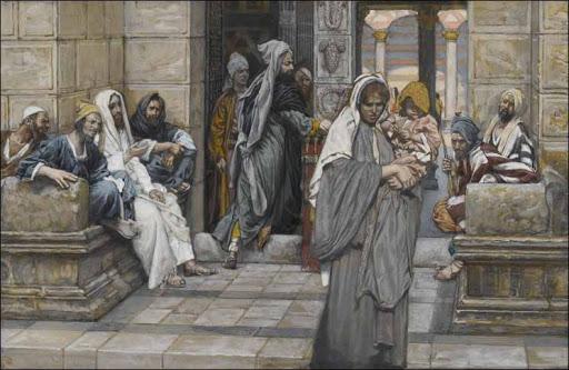 Ofrenda de la viuda by James Tissot