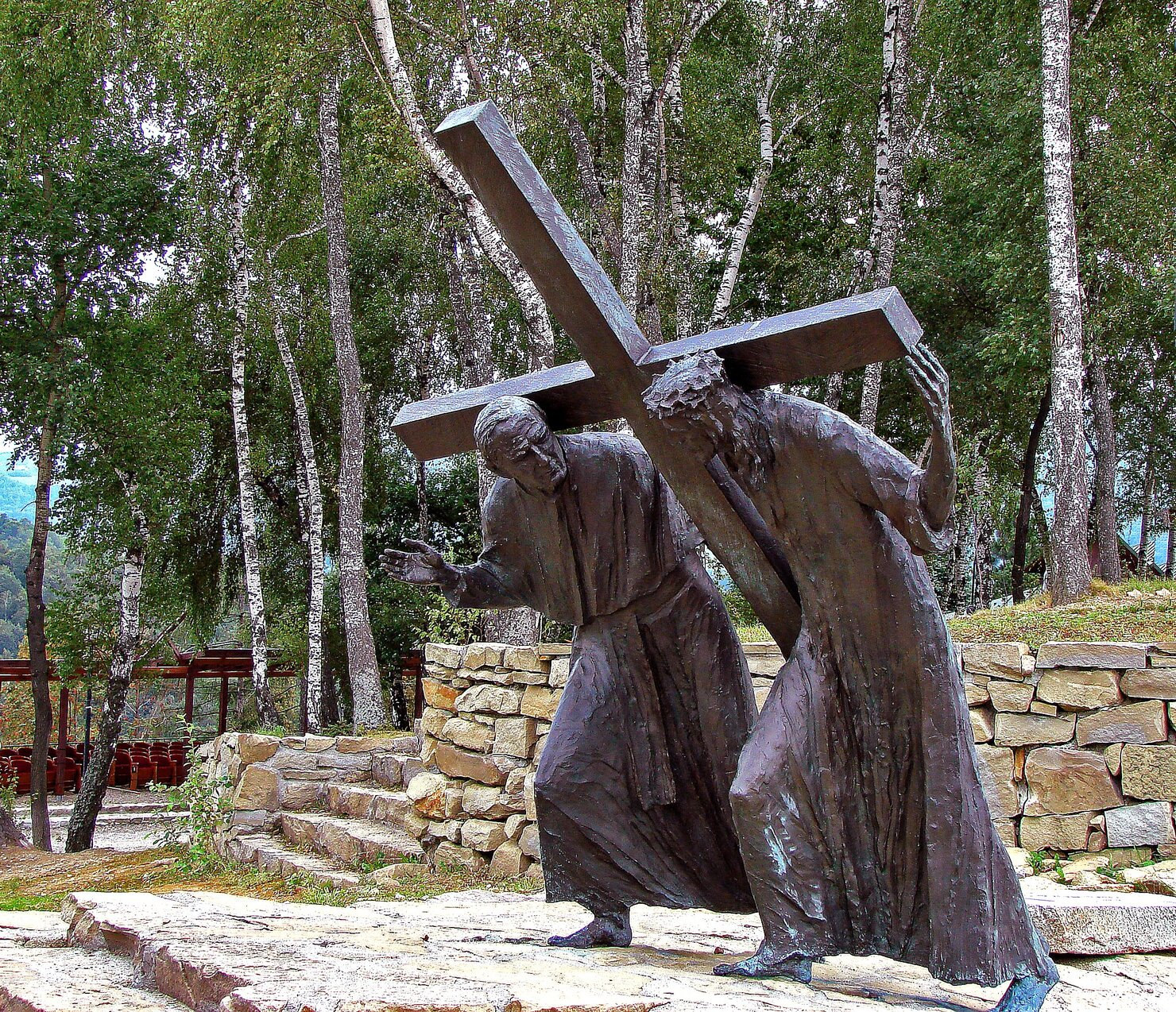 Jesus y Juan Pablo II