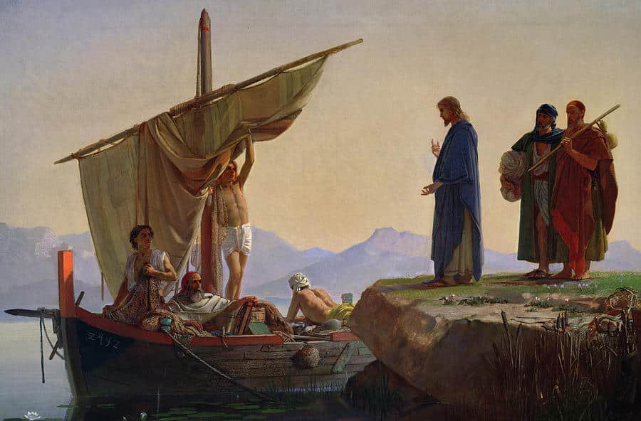 Jesus y los apostoles
