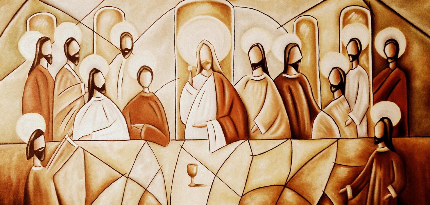 Jesus y apostoles