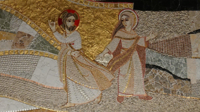 Jesus Resucitado y Maria Magdalena