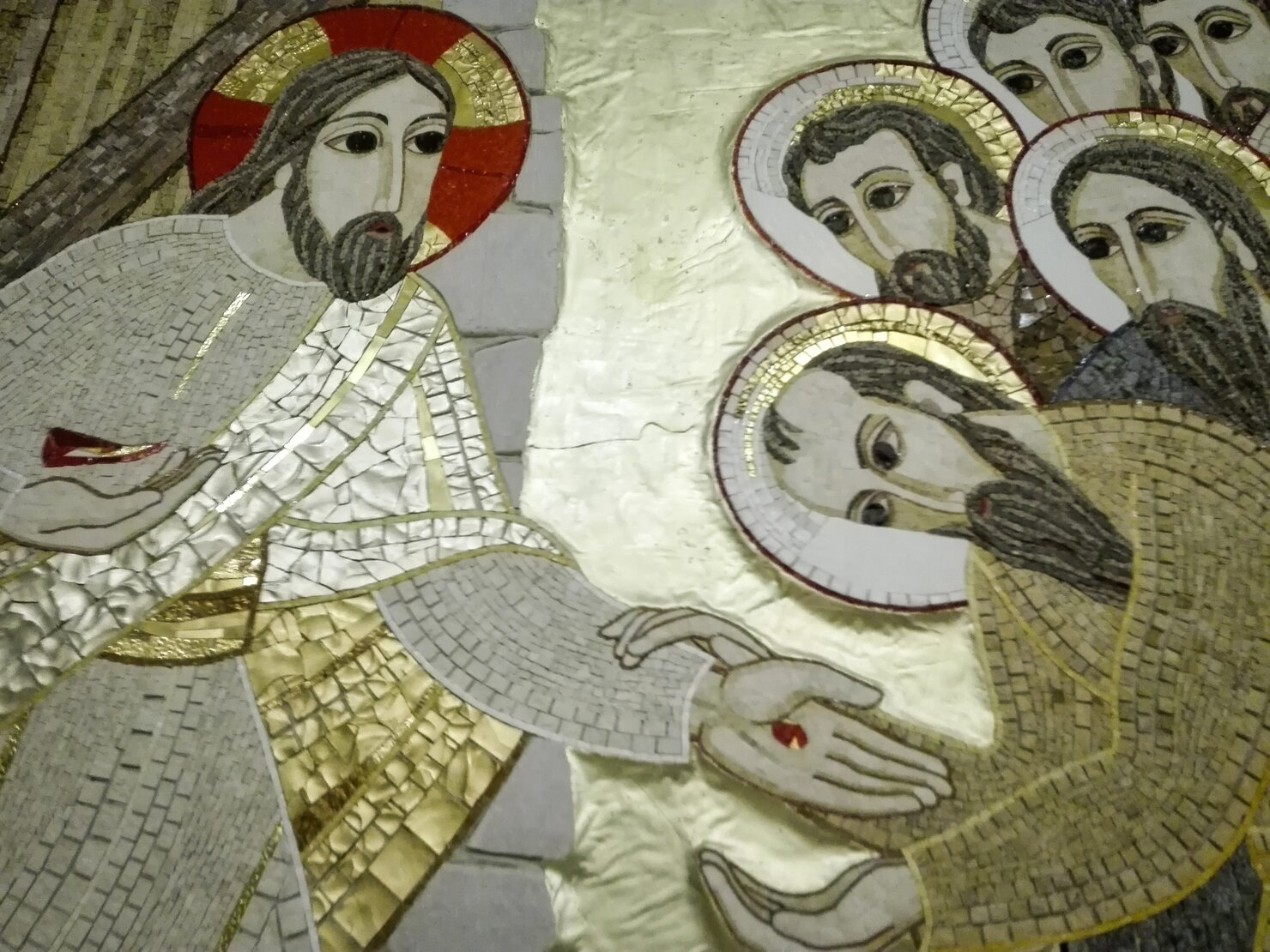 Jesus y los Apostoles Rupnik
