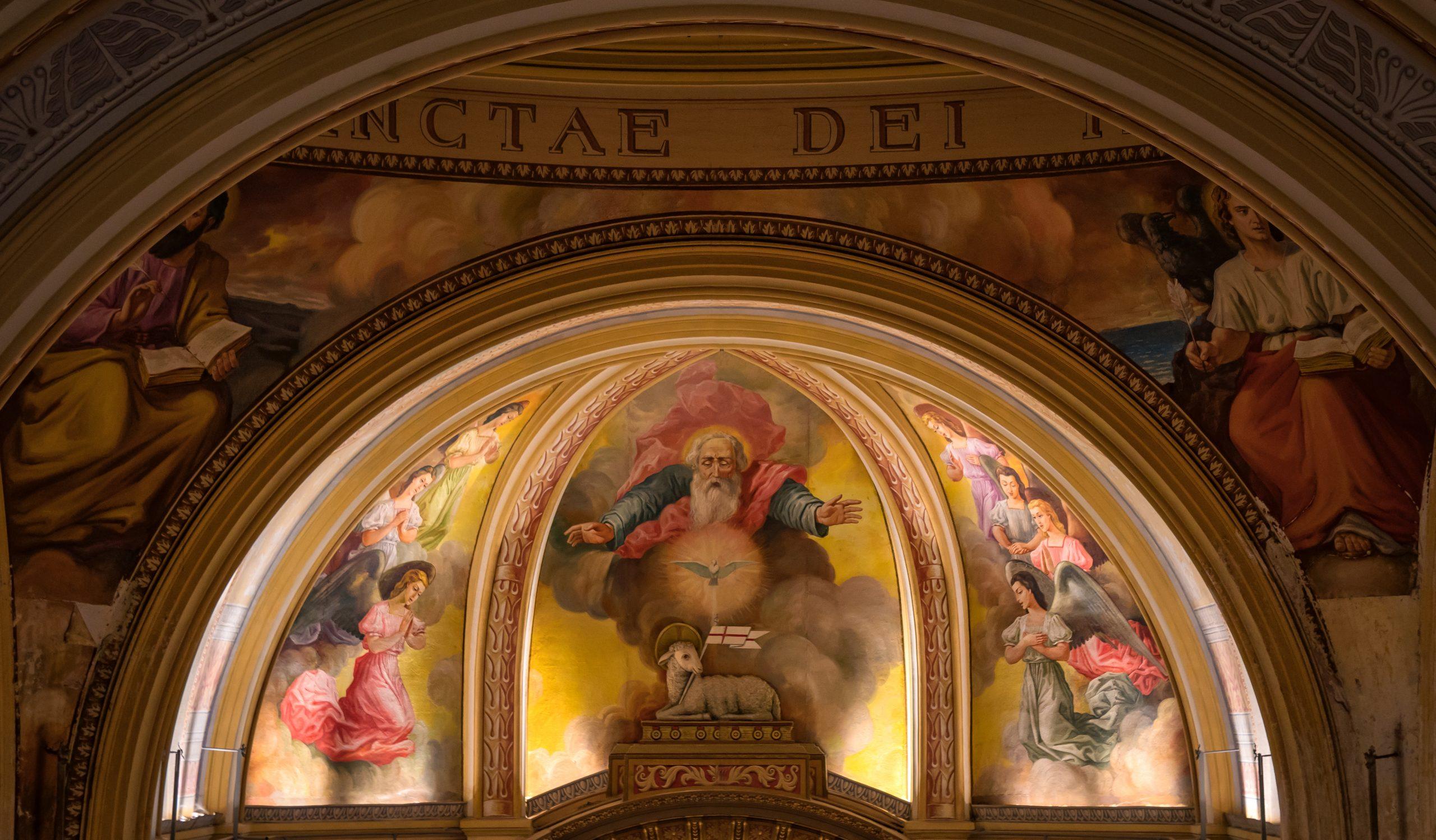 La Trinidad, Iglesia La Rioja Argentina
