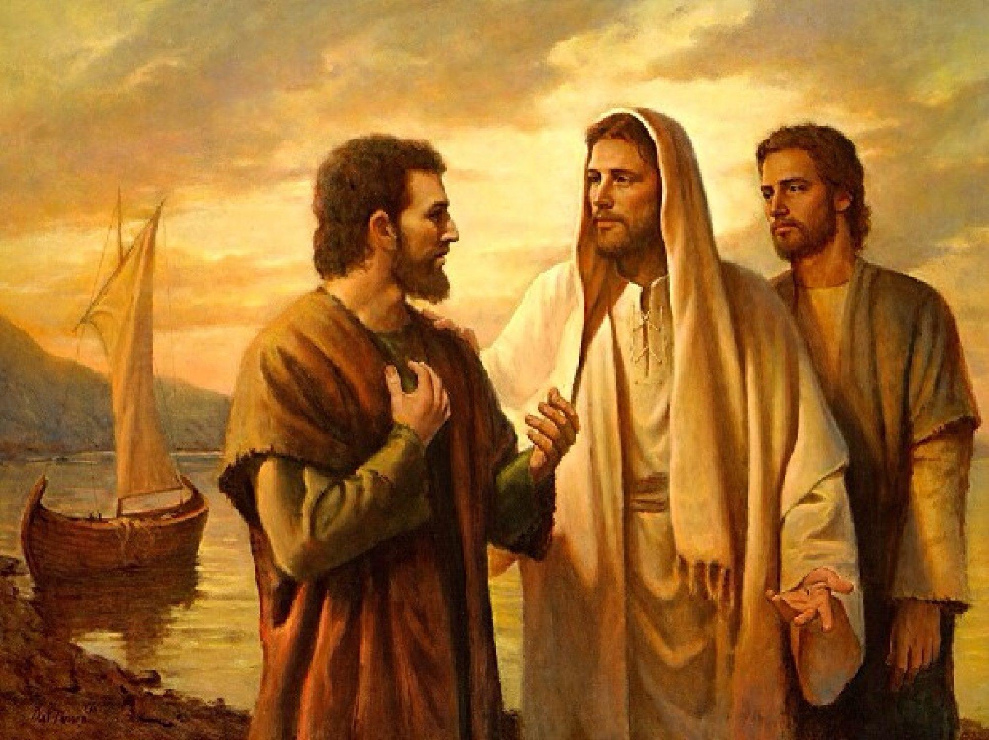 Jesus Juan y Pedro