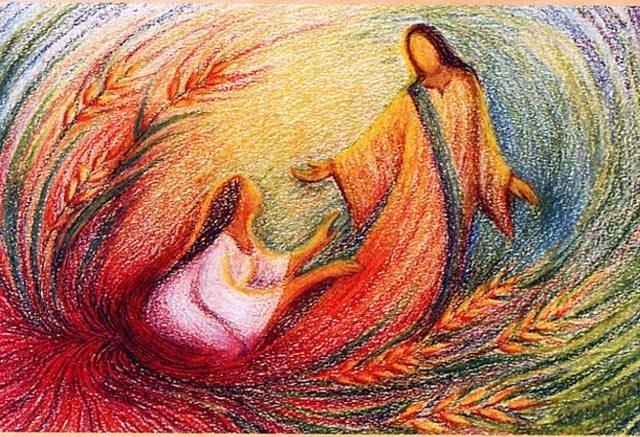 Jesus y Maria Magdalena